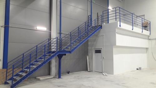 Ukážka interiéru novostavby haly v areáli výbavej teplárne v Prievidzi.
